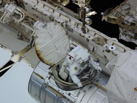 Los astronautas de la ISS han dado más de 150 paseos espaciales