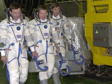 Primera tripulación de la ISS