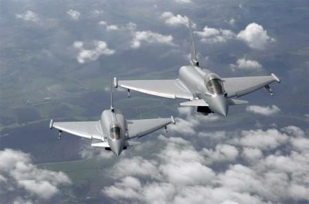 Los Eurofighter italianos asumen la defensa del espacio aéreo en el país