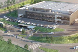 Aspecto que ofrecerá la nueva planta de producción de ITP Aero cuya primera piedra se ha colocado hoy.