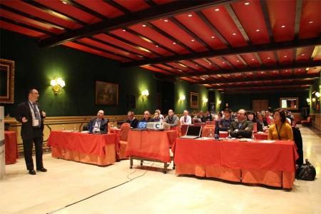 Imagen de la jornada que ITP celebró con los centros tecnológicos y universidades con los que colabora en investigación tecnológica