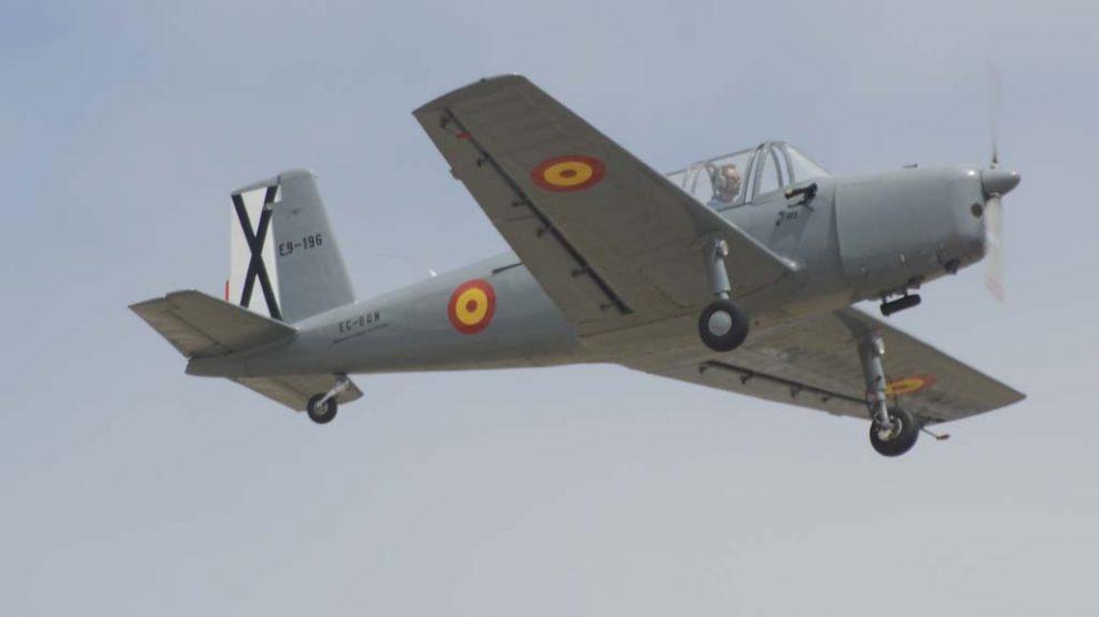 El AISA I-115 fue usado por el Ejército del Aire español entre 1956 y 1977.
