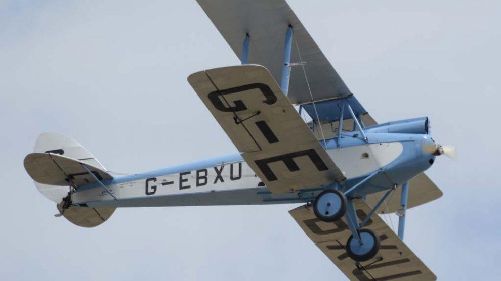 El De Havilland DH.60 ha sido protagonista de numerosas películas.