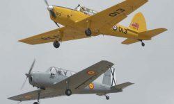Fomación del AISA I-115 y el DHC-1.