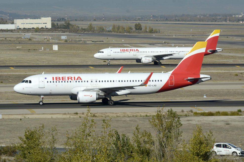 Los ingresos de Iberia en 2017 crecieron un 5,5 por ciento respeto a 2016.