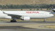Airbus A330-200 de Iberia de los usados para los vuelos a San Francisco.