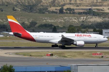 Iberia está usando sus A330 y A340 en sus rutas europeas aunque de una forma intermitente en cada una de ellas salvo Londres.