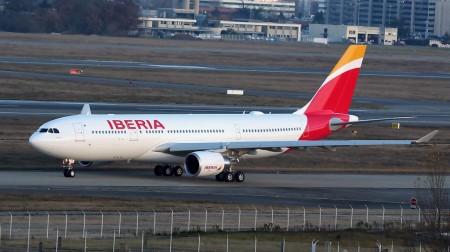 Entre las entregas de Airbus en 2015 está el primer Airbus A330-200 de Iberia.