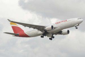 Iberia es una de las aerolíneas que tiene una menor cuota de mercado en su principal aeropuerto.