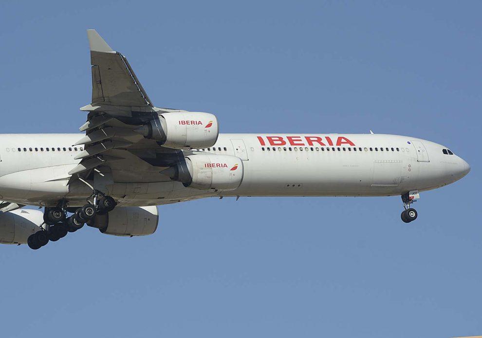 En agosto de 2020 Iberia dejará de tener aviones de cuatro motores con la retirada de sus Airbus A340-600.