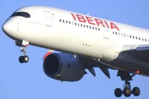 Iberia ha seguido recibiendo A350 en 2019 y ampliando su red de destinos con este avión.