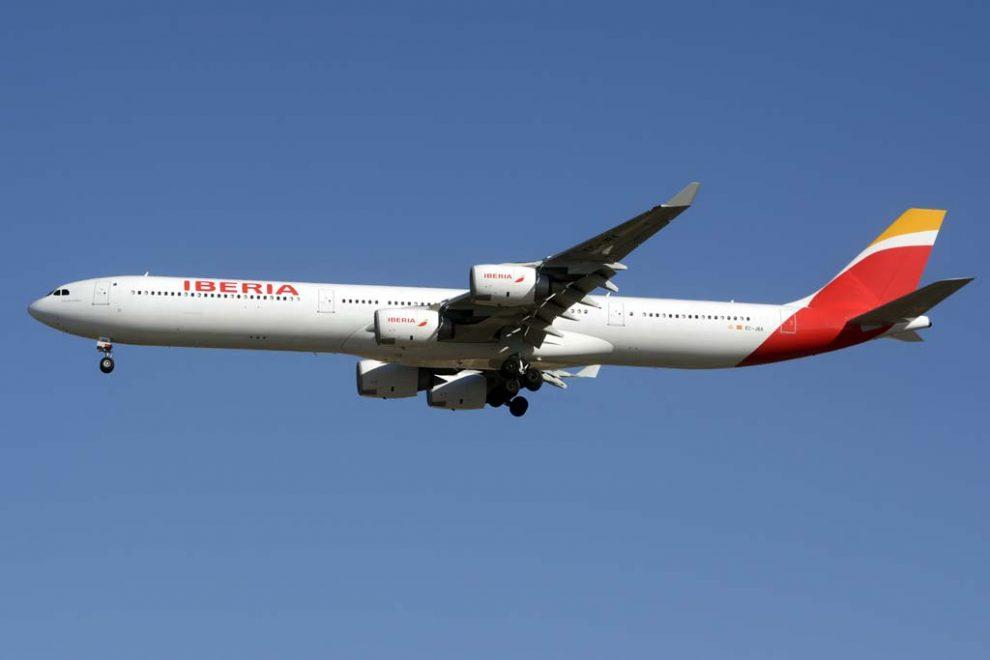 Iberia reanudará sus vuelos a Caracas el jueves 3de agosto con el A340-600.