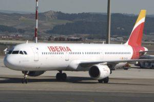 Airbus A321 de Iberia.