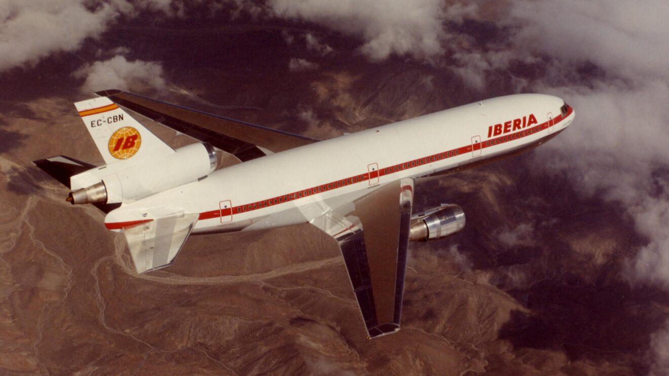 El DC-10 fue durante años la columna vertebral de la flota de largo radio.