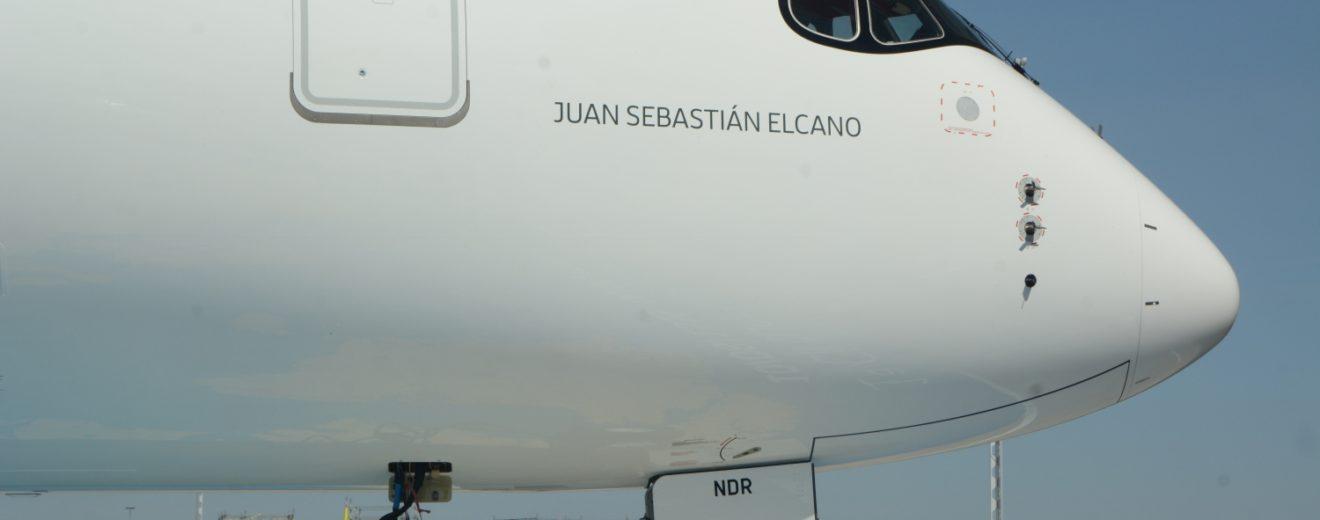 Iberia ya cuenta con cinco Airbus A350 tras la llegada del el Juan Sebastián Elcano.