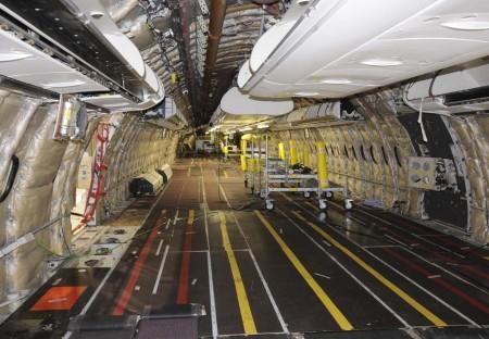 La división de mantenimiento de Iberia ha aumentado el número de revisiones efectuadas, tanto a aviones de IAG como de terceros.
