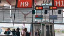 Embarque de un vuelo en el aeropuerto de Madrid Barajas.
