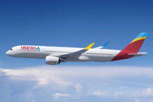 Ilutración de cómo serán los nuevos colores de Iberia tras la compra de Air Europa.