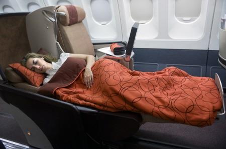 La nueva Business Intercontinental de Iberia ofrece asientos-cama