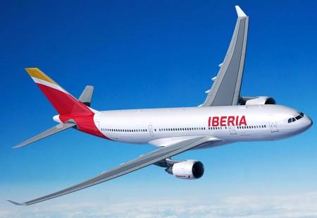 Airbus A330-200 con colores de Iberia