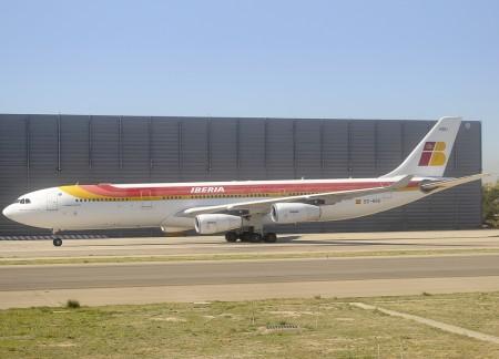 Airbus A340-300 de Iberia