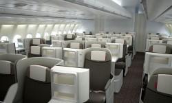 Los asientos de la nueva Business de largo radio de Iberia en el nuevos Airbus A330