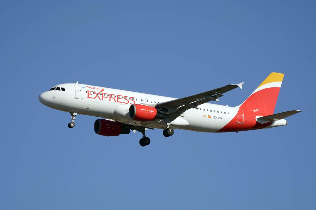 Iberia Express fue la tercera compañía del aeropuerto de Madrid por número de pasajeros transportados en verano.