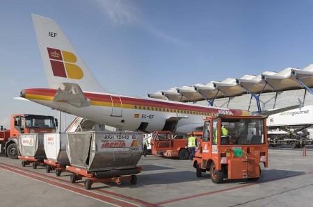 Iberia consigue 17 licencias de handling en el último concurso de Aena