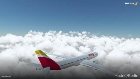 Captura de pantalla de la nueva aplicación de Iberia.