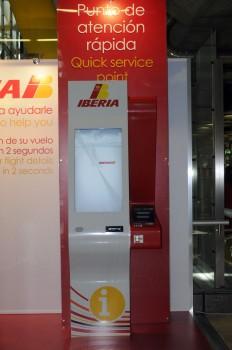 Puesto de atención rápida de Iberia