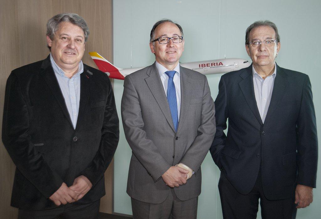 Iberia logra un acuerdo con los sindicatos de su personal de tierra.