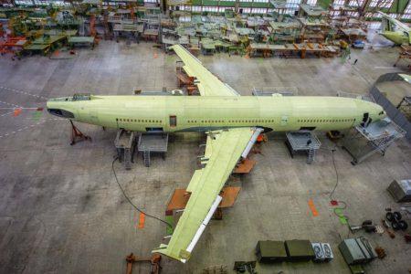 Ilyushin tiene previsto construir el Il-96-400M a razón de 2,5 aviones al año, aunque todavía no tiene clientes.