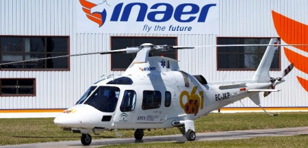 Los alumnos de European Flyers de cursos de piloto de helicóptero podrán trabajar en verano en Inaer.