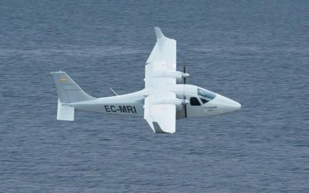 Nuevo avión de vigilancia marítima de Indra y Tecnam