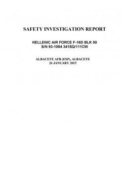 Descarga pinchando en esta imagen el informe del accidente