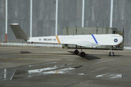 El UAV Milano ha sido diseñado para llenar el hueco entre los UAV tácticos y los estratégicos.