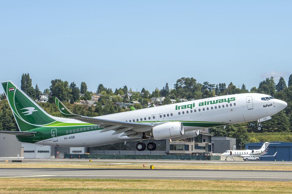 Boeing 737-800 YI-ASE