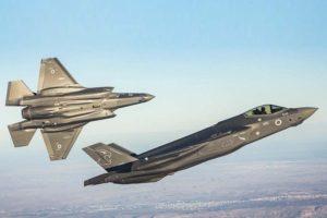 F-35 de la Fuerza Aérea de Israel. hasta ahora único usario del modelo en Oruiente Medio.