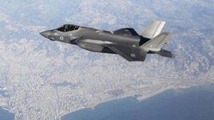 Israel fue el primer país en usar en combate el F-35. Este fue fotografiado sobre Beirut en 2018.