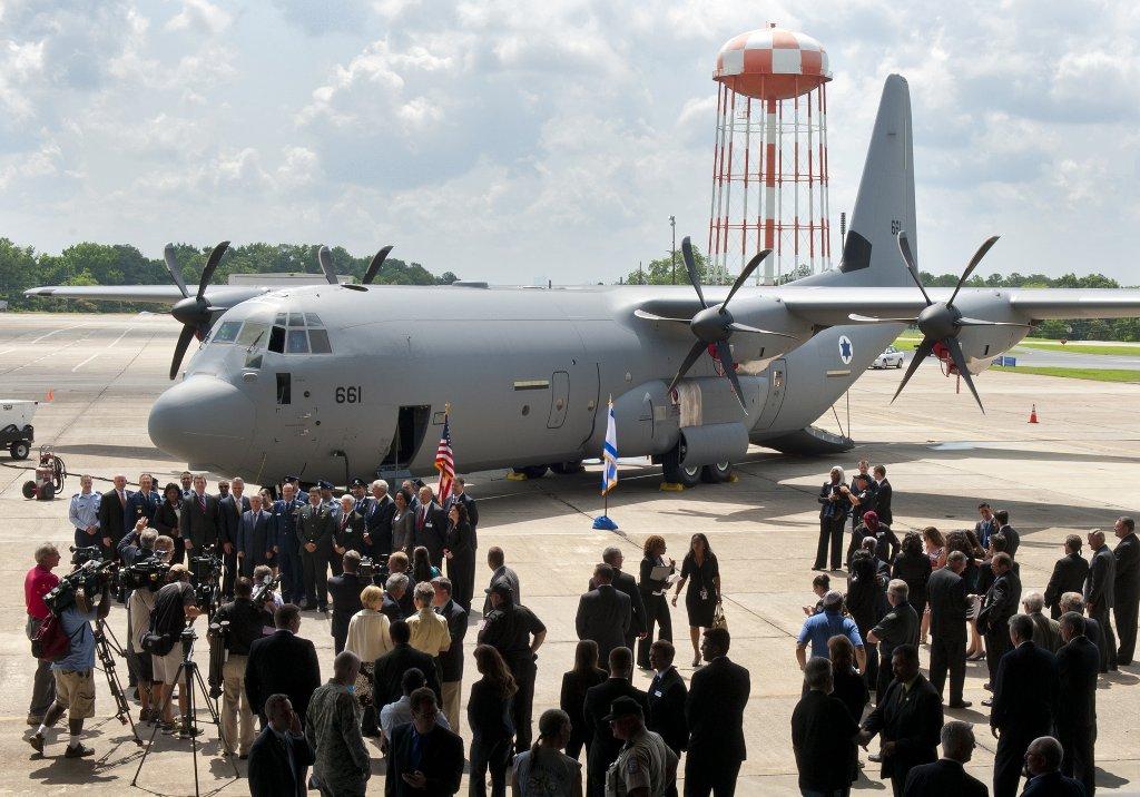 Primer C-130J de Israel