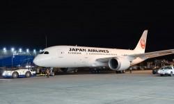 Prmer Boeing 787 con lanueva librea de JAL