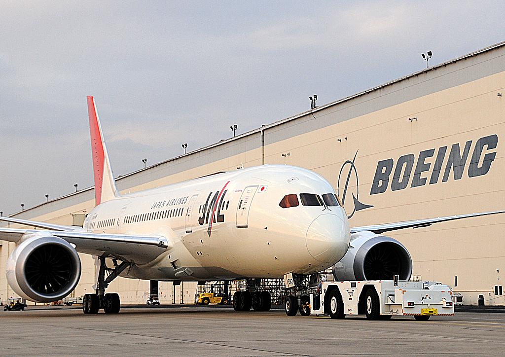 Boeing 787 Dreamliner de JAL
