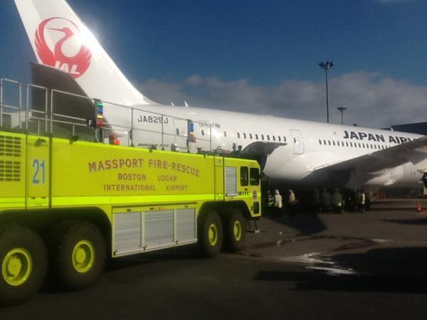 Boeing 787 JA829J en Boston