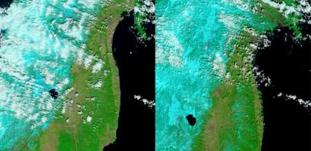 Japón antes y después del tsunami