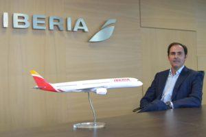 Javier Sanchez Prieto, nuevo presidente de Iberia en sustitución de Luis Gallego.