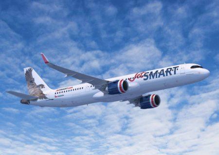 La chilena Jetsmart contará  con 12 A321XLR.
