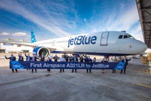 Entre las entregas de Airbus en abril estuvo este A321LR a Jetblue, el primero con cabina Airspace.Entre las entregas de Airbus en abril estuvo este A321LR a Jetblue, el primero con cabina Airspace.