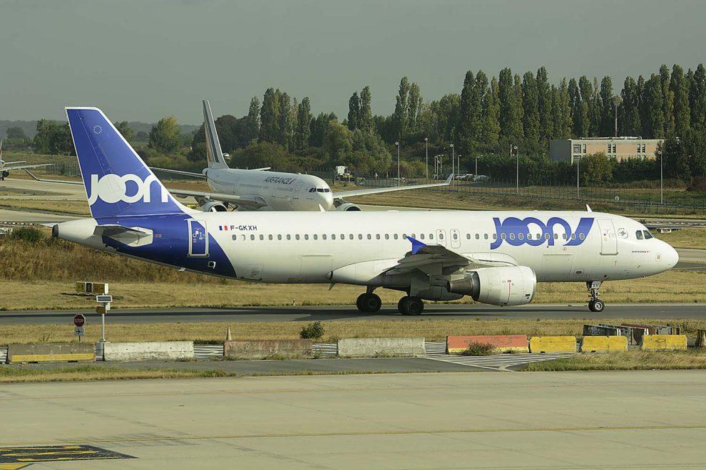 Joon cuenta hoy con una flota de siete A320 como el de la imagen, cuatro A321 y cuatro A340-300.
