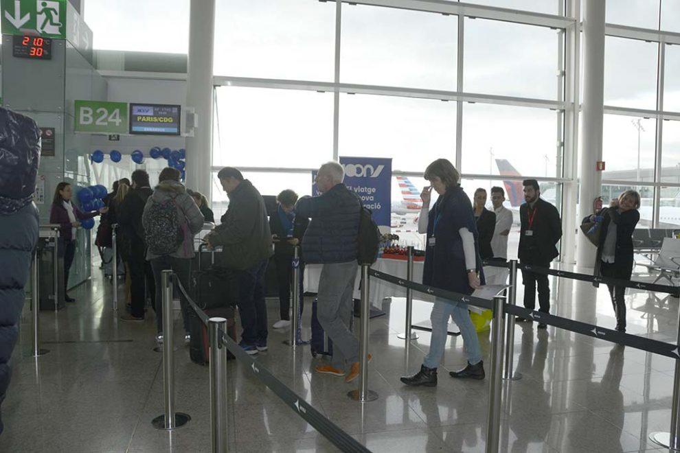 Algo más de 175 millones de pasajeros volaron a o desde España en vuelos internacionales en 2017.
