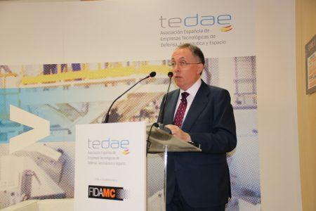 Adolfo Menéndez, presidente de TEDAE, habló sobre los retos a los que se enfrenta la industria en España.